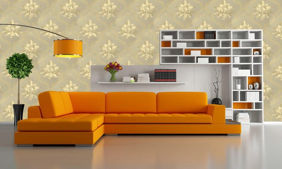 Excellent Construction &amp; Real Estate ED-99602 Wallpaper Non-woven Foam Light Paper Nonwoven Low PVC Surface Pastoral Wall Paper<br>