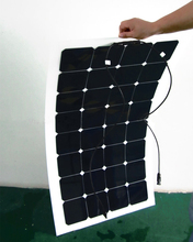 1x 100w free shipment Solar Panel flexible 12V Solar system solar module solar cell outdoor RV/marine/boat cheap sales