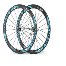 AWST bicycle carbon wheels 700C 20-24h black blue road bike wheels 50mm clincher with 23mm width basalt surface made in taiwan(China)