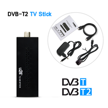DVB-T2 TV Stick Digital Video Broadcasting Terrestrial TV Receiver Chromecast dvb t2 Tuner DVB-T with License for Russia H.264