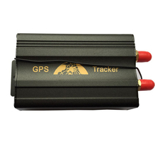2SIM/GPRS/GPS/GSM Vehicle Car Tracker Real-time Tracking Alarm System Google Map Remote Control 103B