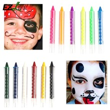 Face Body Painting Crayon 6 Colours Kit Set Sticks Party Wedding Kids Children Painting Sticks Learning Drawing Toys HD0220