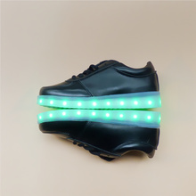 7ipupas Unisex Lighted Led Shoes Men Recharge Luminous For Adults Neon basket Colorfull Glowing Casual shoes white black silvery