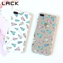 Buy LACK Colorful Paper Plane Phone Case iphone 7 Case Lovely Cartoon Cover Fashion Ultra thin Soft Cases iphone7 7 PLus NEW for $1.70 in AliExpress store
