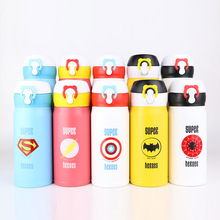 Stainless Steel Thermos Bottle Insulated Tumbler Vacuum Thermos Cup Water Bottle For Kids