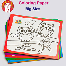 LovelyToo 20pcs Coloring Pages For Drawing Kids Creator's Kit Children Games Paints Educational Toys Christmas Gifts(China)