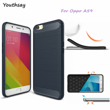 Youthsay For Fundas Oppo F1S Case A59T A59M Soft TPU Carbon Fiber Case For Oppo F1S Phone Cover For Case Oppo Find 9 Oppo A59