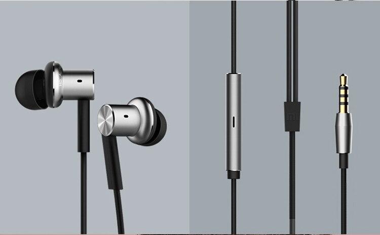 100% original xiaomi hybrid earphone Mi In-Ear Piston Earphone with Mic Remote Headset for Xiaomi Redmi Red Drop ship<br><br>Aliexpress