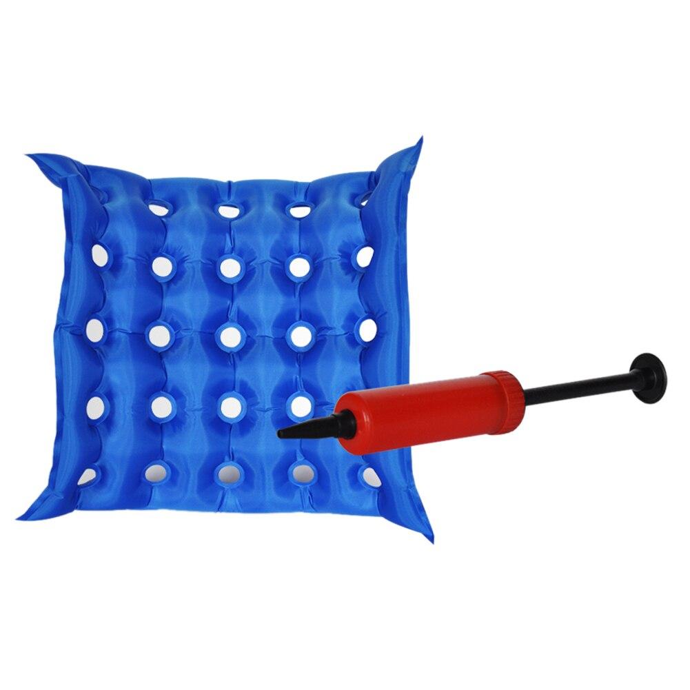 1pcs Air Cushion Inflatable Seat Cushion Wheelchair Square Porous Buttocks Massage Bedsore Air Inflatable Waffle Seat Cushion<br><br>Aliexpress