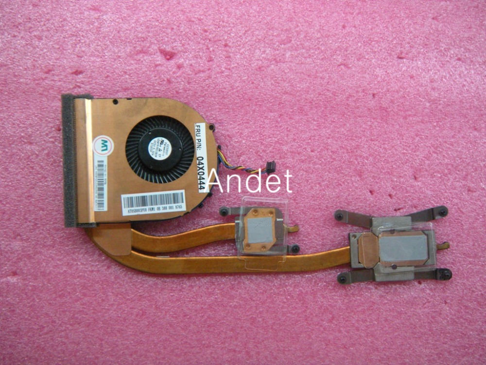 New Original For Lenovo ThinkPad T440S T450S Fan Heatsink CPU Independent Discrete Graphics Cooling 01AW563 04X1849 04X04444<br>