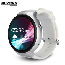 I4 Smart Watch Wristband 1G Waterproof Full Circular AMOLED Screen Support WiFi Video GPS MIC SIM Heart Rate Monitor For Android