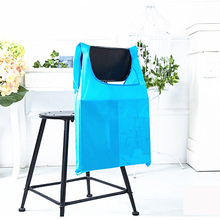 Square Pocket Shopping Bag Candy 12 colors Available Eco-friendly Reusable Folding Polyester Reusable Folding Shopping Bag(China)