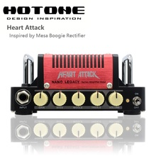 Hotone Nano Legacy Heart Attack 5 Watt Metal Sound Mini Guitar Amplifier Head Inspired by Mesa Boogie Rectifier
