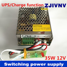 New! 35W 12V universal AC input UPS/Charge function switching power supply charger, voltage 13.8v (SC-35W-12)(China)