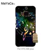 MaiYaCa Hot Printed Cool phone Accessories For case HTC One m9 plus  Colorful musical notes