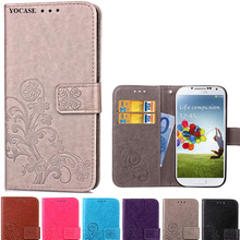 S4 Mini i9190 Flip Cover Leather Wallet Case For Coque Samsung Galaxy S4 mini Case For Samsung S4 mini i9190 Phone Case Luxury