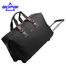 Travelling Duffel Bag BOPAI Quality Guaranteed Suitcase on wheels Men's Rolling Luggage Bags Women Weekend Travel Duffel Bags