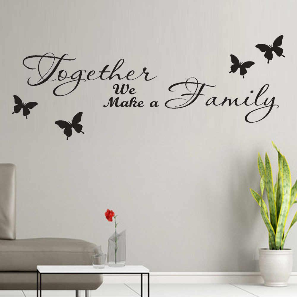 """/""""a vida é não medido por.../"""" Decalque Adesivo De Parede Sala Casa Decoração removível mural"""