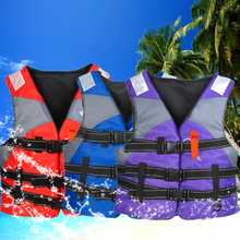Life Jacket High Quality Outdoor Professional Swimwear Foam Vest Adults Kid Fishing Surfing Kayak Survival Water Sports Swimsuit(China)