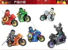6DC10017-10022 Ninja Motorcycle Series super heroes marvel building blocks figure bricks hobby interesting toys kids - Aliex Building Blocks Toys store