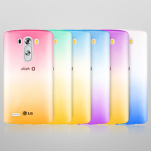 candy Gradient Color soft tpu phone case For LG G5 G4 G3 V10 Pro K10 K4 Stylus 2 X Google Nexus 6 cover Clear Silicone Crystal