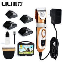 Professional High Power 60W Electric Pet Hair Clipper Cat Dog Rabbit Hair trimmer Grooming Machine with Spare Head 110-240VAC(China)