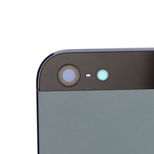 (3Pcs/Lot) Gray/ Silver Metal Battery Door Housing Cover Replacement For iPhone 5 housing cover case