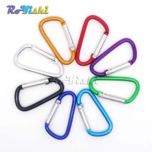 3pcs/pack Aluminum Carabiner Snap Hook Keychain For Paracord Outdoor Activities Hiking Camping 8 Colors
