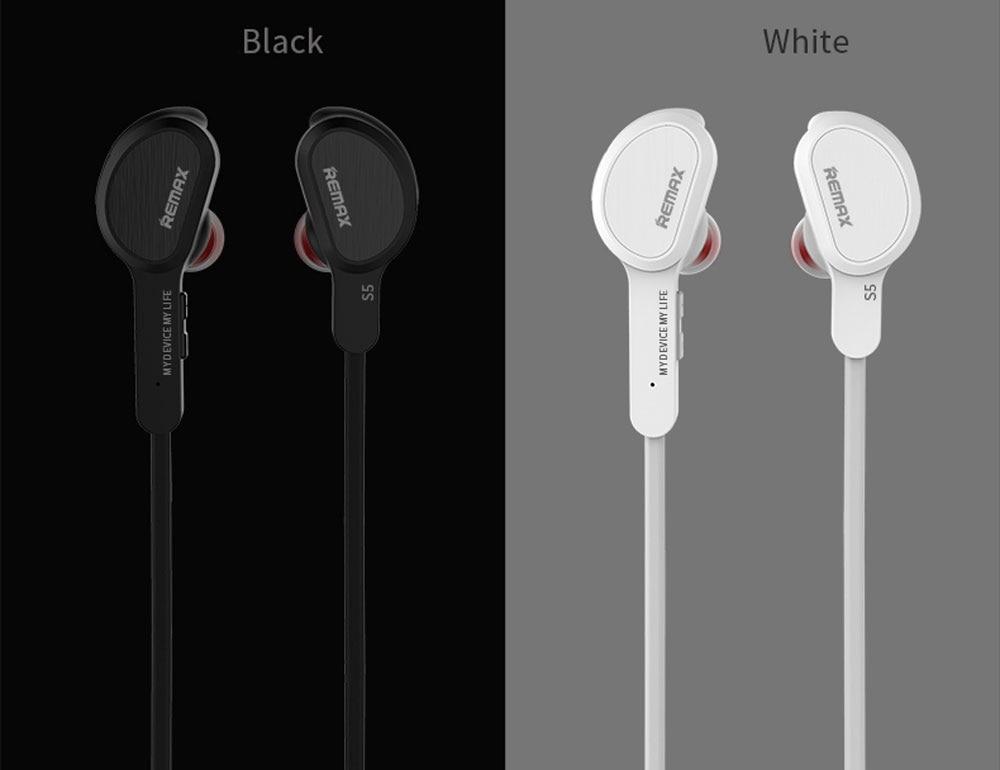 Original Remax RB-S5 S5 Wireless Earphone Sports Bluetooth V4.1 Headset Stereo Earphones Handsfree For iPhone iPad Xiaomi phones