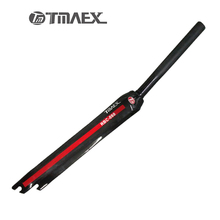 TMAEX-Full Carbon Road Bike Fork 1-1/8 in 28.6mm Bicycle Parts Superlight Cycling Carbon Front Fork Fixed Gear Fork