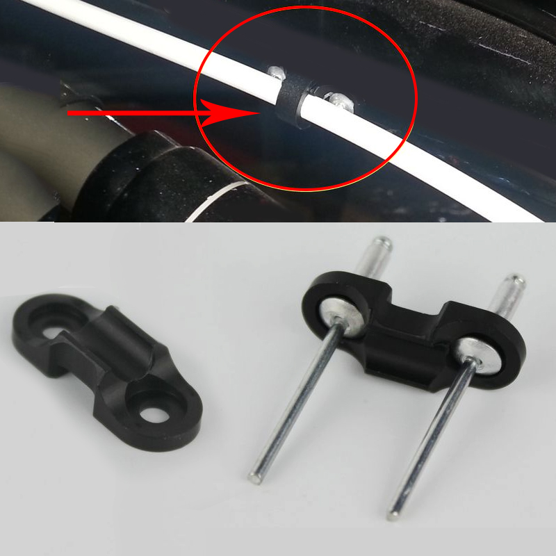 Bicycle  Accessory Cable Clip Brake Line Clamp Pipe Buckle Wire Fixed Ring