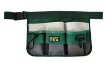 Free Shipping Fasite waterproof 600D Oxford garden tool bag garderning tools with belt