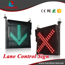 Brightness 6000cd/sqm LED Traffic Lane Control Signal Traffic Lane Indicator Light Control Signal