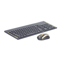 MAORONG TRADING Wireless keyboard and mouse set for dell for acer laptop desktop computer multimedia keyboard and mouse combo(China)