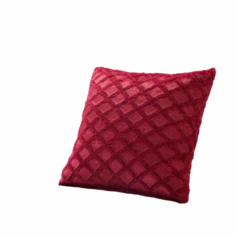 43cmx43cm Plush Pillowcase Comfortable Throw Wedding Cushion Pillow Case  Cover Shape Rhombus Home Hot - us269 c4b5901d53