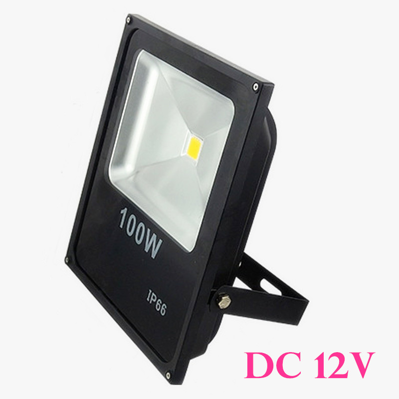 DC12V Waterproof LED Flood Light 100W led lamp Warm/Cold white/Red/Blue/Green/Yellow Outdoor Light LED Floodlight Spotlight<br><br>Aliexpress