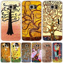 gustav klimt tree of life cell phone case cover for Samsung Galaxy S7 edge PLUS S8 S6 S5 S4 S3 MINI