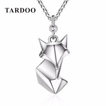 TARDOO Moda Fox Lindo Collar de Los Colgantes para Las Mujeres 925 Amor Collar de La Joyería Fina de Plata de Ley 2017 Regalos de Año Nuevo