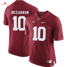 Nike 2017 Alabama Anthony Steen 61 Can Customized Any Name Any Logo Limited Boxing Jersey AJ McCarron 10