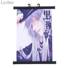 Lychee Japanese Anime Black Butler Wall Poster Canvas Scroll Painting Home Wall Print Modern Art Decor Poster(China)