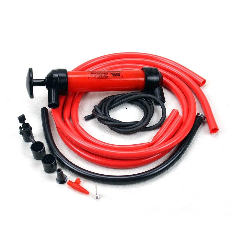 Barrel Oil Siphon Pump Extractor Fuel Intake Petro...