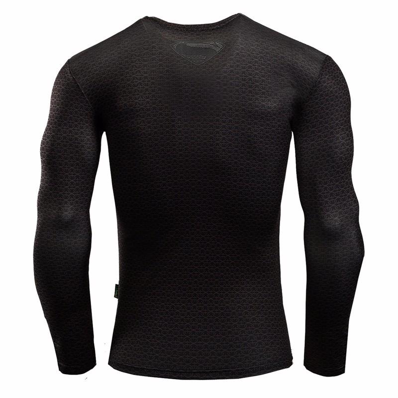 Marvel Gyms Clothing Fitness Compression Shirt Men Batman t-shirt men Long Sleeve 3D t shirt men Crossfit Tops tee shirt homme 27