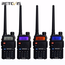 4X Team Handy Radio Walkie Talkie Transceiver Retevis RT-5R 5W 128CH VOX Scan FM Ham Portable Radio Set Good Communication Tools(China)