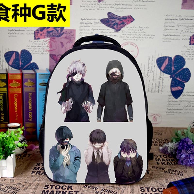 New Arrival: Anime Tokyo Ghoul Kaneki Ken Laptop Backpack/Double-Shoulder Bag/School/Travel Oxford Bag (OxBP)<br><br>Aliexpress