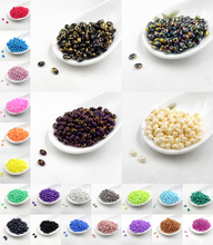 2016 new 5x2.5mm Luster Czech Glass Seed Beads Two Hole Bead  240pcs  by the color you choose