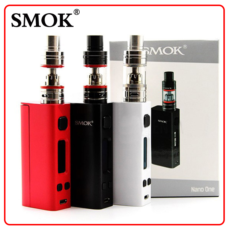 100% Original  SMOK Nano One Kits with 80W R-Steam Mini TC Box Mod and Nano TFV4 Tank 2.0ml Smok Electronic Cigarette<br><br>Aliexpress