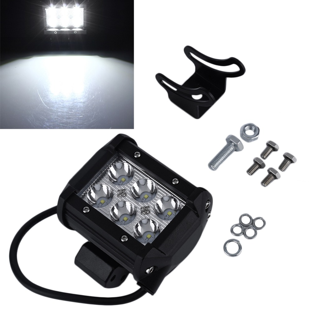 4 inch 18W LED Work Light Lamp for Motorcycle Tractor Boat Off Road 4WD 4x4 Truck SUV ATV Spot Flood 12v 24v Hot Selling###<br><br>Aliexpress