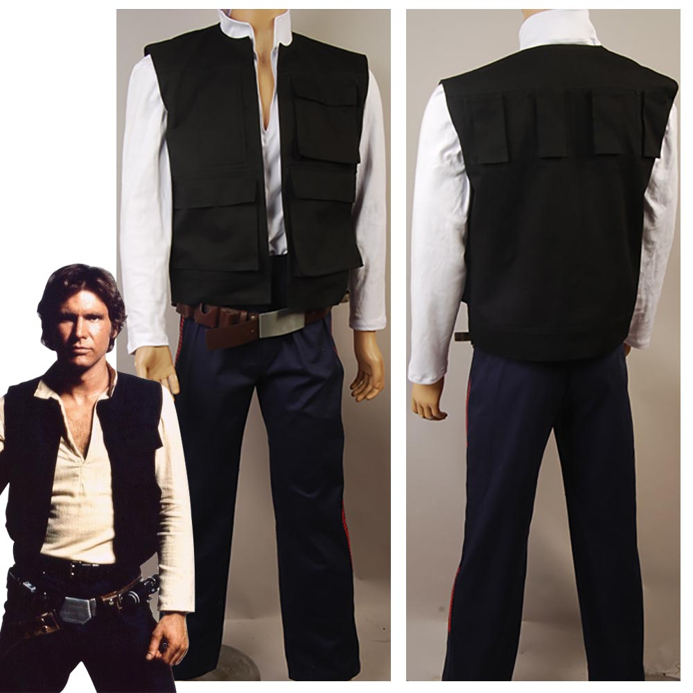 Han solo shirt cosplay