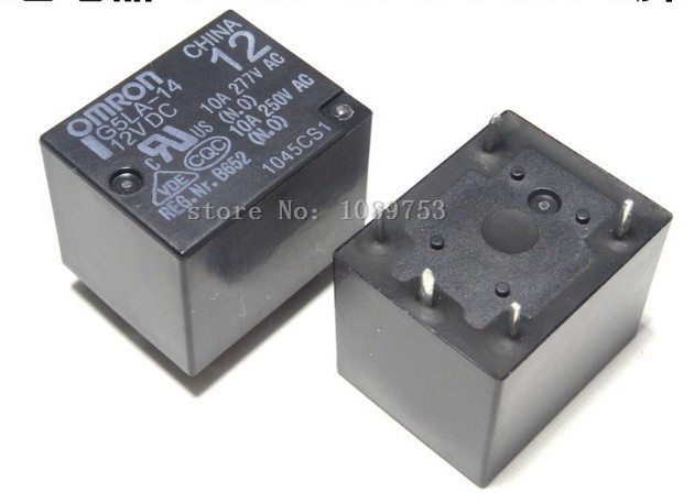 50PCS 12V Relay G5LA-14-12VDC 10A 250VAC Power Relay AC 250V High quality<br><br>Aliexpress