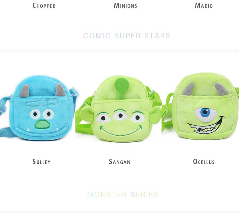 Cute Kids Messenger Bag Little Boys Girls Sling Bag Christmas Gift Satchel (5)
